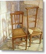 Irreconcilable Differences Metal Print