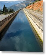 Irrigation Canal Metal Print