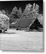 Irving College Barn Metal Print