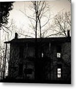Is Anybody Home Metal Print by Off The Beaten Path Photography - Andrew Alexander