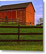Is Every Barn Red Metal Print