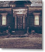 Is Someone Home Metal Print