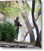 Is The Fisherman Real? Metal Print
