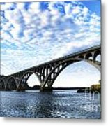 Isaac Lee Patterson Bridge Metal Print