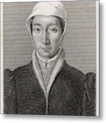 Isabella Of France  Consort Of Edward Metal Print