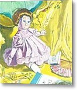 Isabel's Dolly Metal Print