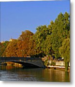 Isar River - Munich - Bavaria Metal Print by Christine Till