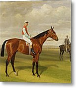 Isinglass Winner Of The 1893 Derby Metal Print by Emil Adam