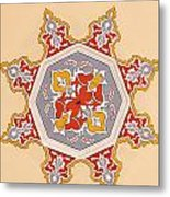 Islamic Art Metal Print