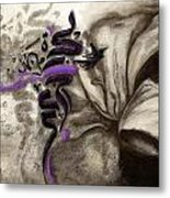 Islamic Calligraphy 014 Metal Print by Catf