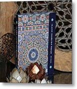 Islamic Geometric Design - Book By Eric Broug Metal Print by Murtaza Humayun Saeed