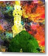 Islamic Painting 007 Metal Print by Catf