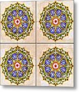Islamic Tiles 03 Metal Print