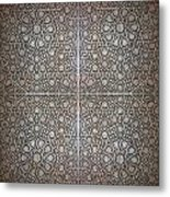 Islamic Wooden Texture Metal Print