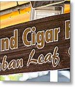 Island Cigar Factory Key West - Panoramic  Metal Print by Ian Monk
