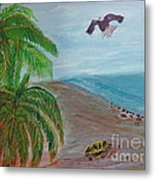 Island In Philippines Metal Print