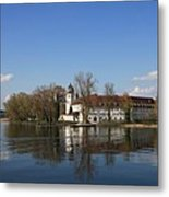 Island In The Lake Metal Print