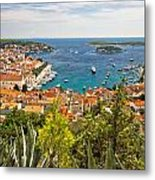 Island Of Hvar Scenic Coast Metal Print