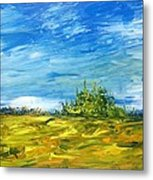Island Of Pines - Interlake Field Metal Print
