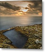 Island Sunset Metal Print by Tin Lung Chao