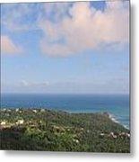 Island View From High Metal Print