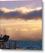 Island View Metal Print by Michelle and John Ressler