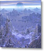 Islandia Evermore Metal Print by Phil Perkins