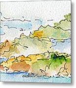 Islands In The Sun Metal Print