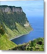 Isle Of Skye Sea Cliffs Metal Print