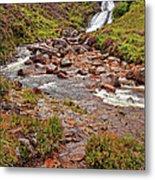 Isle Of Skye Waterfall Metal Print