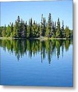 Isle Royale Reflections Metal Print