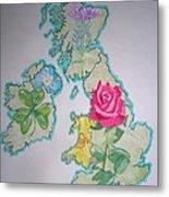 Isles And Flowers Metal Print