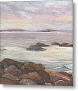 Isles Of Shoals From Odiorne Point Metal Print