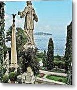 Isola Bella And Lake Maggiore Metal Print