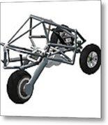 Isometric Lean Frame Transformer Transporter Metal Print