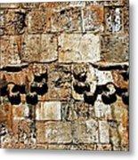 Israel Wall Bas Relief Metal Print