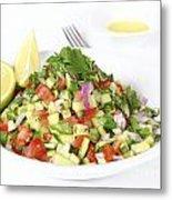 Israeli Salad  Metal Print