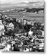 Istanbul Cityscape IIi Metal Print
