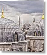 Istanbul Landmarks  Metal Print