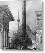 Istanbul: Porphyry Column Metal Print