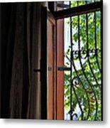Istanbul Window Metal Print