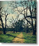 It All Depends Metal Print by Laurie Search