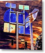 It Does Not Matter If I Miss You 2013 Metal Print