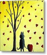 It Must Be Love By Shawna Erback Metal Print