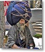 Its All In The Head - Rishikesh India Metal Print