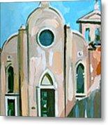 Italian Church Metal Print by Filip Mihail