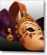 Italian Masquerade Metal Print