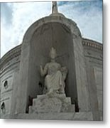 Italian Mausoleum Metal Print
