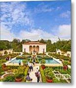 Italian Renaissance Garden Hamilton Gardens New Zealand Metal Print