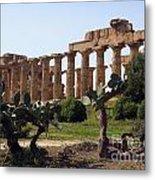 Italian Ruins Metal Print
